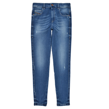 Clothing Girl Skinny jeans Diesel D-SLANDY HIGH Blue