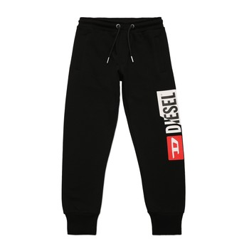 Clothing Boy Tracksuit bottoms Diesel PCUTY Black