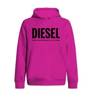 Clothing Girl Sweaters Diesel SDIVISION LOGO Pink
