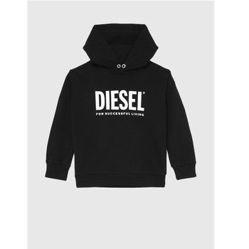 Clothing Children Sweaters Diesel SDIVISION LOGO Black