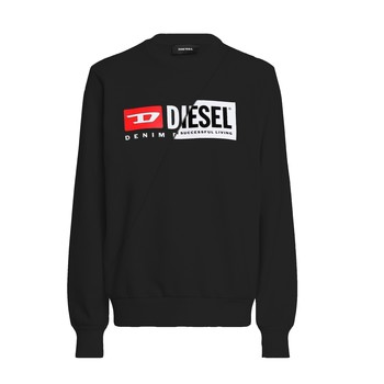 Clothing Children Sweaters Diesel SGIRKCUTY Black