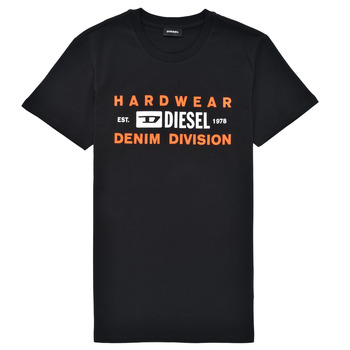 Clothing Boy Short-sleeved t-shirts Diesel TDIEGOSK32 Black
