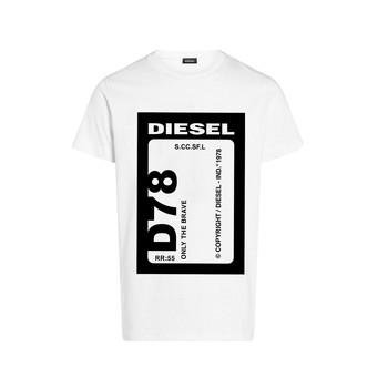 Clothing Boy Short-sleeved t-shirts Diesel TFULL78 White