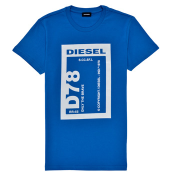 Clothing Boy Short-sleeved t-shirts Diesel TFULL78 Blue