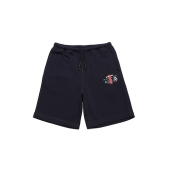Clothing Boy Shorts / Bermudas Diesel PEDDY Blue