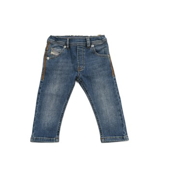 Clothing Boy Slim jeans Diesel KROOLEY Blue