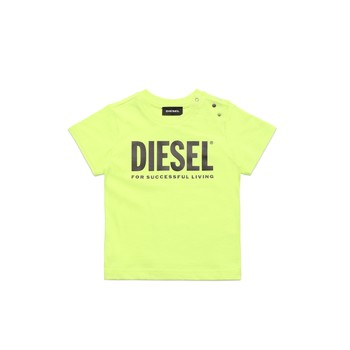 Clothing Children Short-sleeved t-shirts Diesel TJUSTLOGOB Green