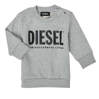 Clothing Children Sweaters Diesel SCREWDIVISION LOGOB Grey