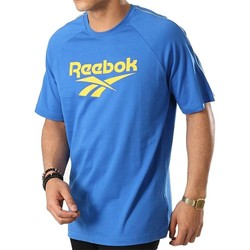 Clothing Men Short-sleeved t-shirts Reebok Sport Classics Vector Print Tee Blue