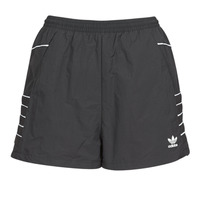 Clothing Women Shorts / Bermudas adidas Originals LRG LOGO SHORTS Black