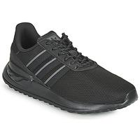 Shoes Children Low top trainers adidas Originals LA TRAINER LITE J Black