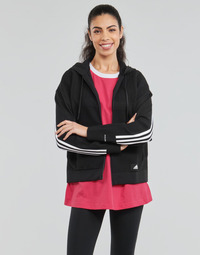 Clothing Women Sweaters adidas Performance W Knit V Hoodie Black