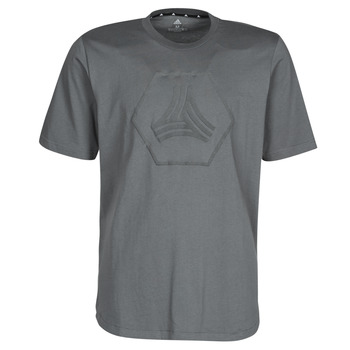 Clothing Men Short-sleeved t-shirts adidas Performance TAN LOGO TEE Grey