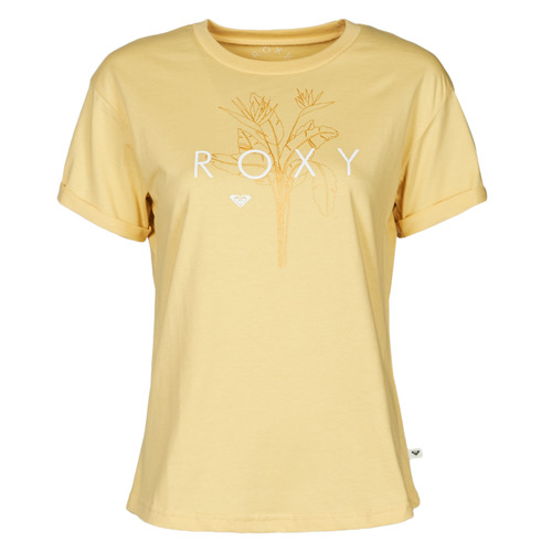 Clothing Women Short-sleeved t-shirts Roxy EPIC AFTERNOON CORPO Yellow