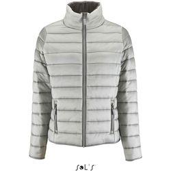 Clothing Women Duffel coats Sol's Doudoune femme  Ride gris métallique