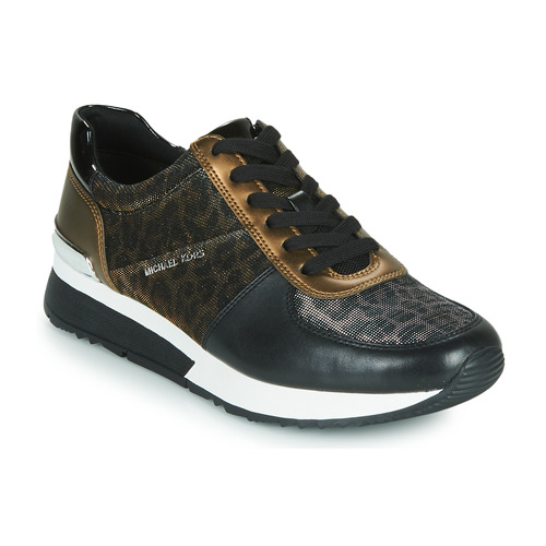 Shoes Women Low top trainers MICHAEL Michael Kors ALLIE Black / Panther / Bronze