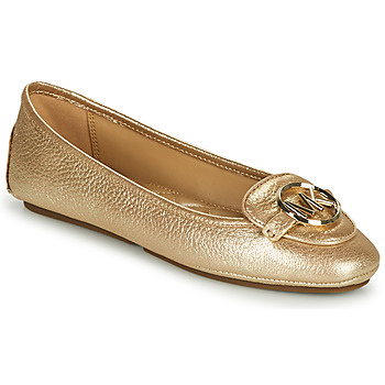 Shoes Women Flat shoes MICHAEL Michael Kors LILLIE MOC Gold