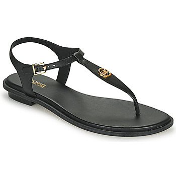 Shoes Women Sandals MICHAEL Michael Kors MALLORY THONG Black