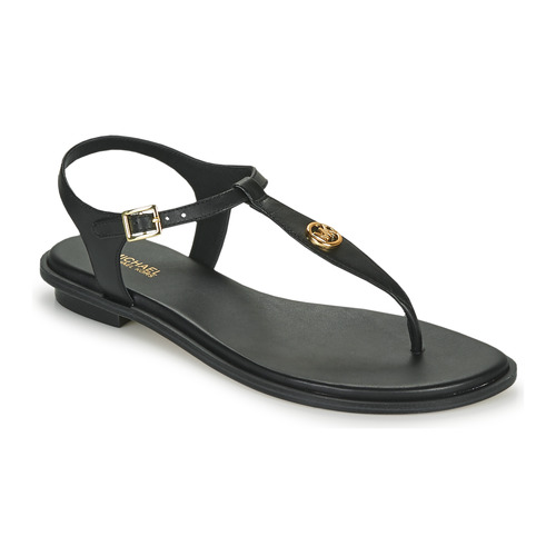 Shoes Women Sandals MICHAEL Michael Kors MALLORY THONG Black