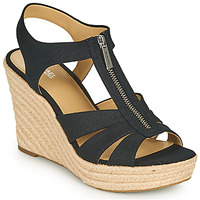 Shoes Women Sandals MICHAEL Michael Kors BERKLEY WEDGE Black