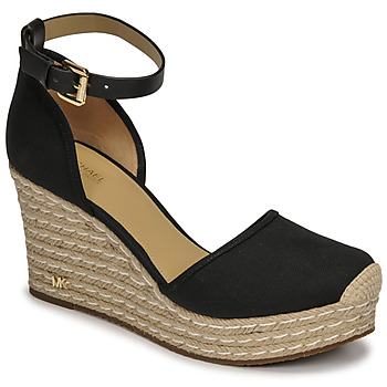 Shoes Women Sandals MICHAEL Michael Kors KENDRICK WEDGE Black