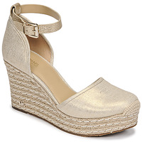 Shoes Women Sandals MICHAEL Michael Kors KENDRICK WEDGE Gold