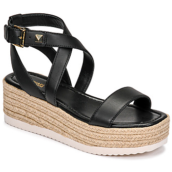 Shoes Women Sandals MICHAEL Michael Kors LOWRY WEDGE Black