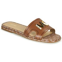 Shoes Women Mules MICHAEL Michael Kors KIPPY SLIDE Cognac