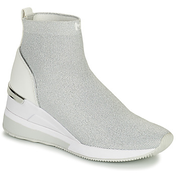 Shoes Women Hi top trainers MICHAEL Michael Kors SKYLER BOOTIE Silver