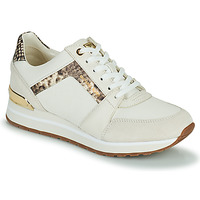 Shoes Women Low top trainers MICHAEL Michael Kors BILLIE TRAINER Beige