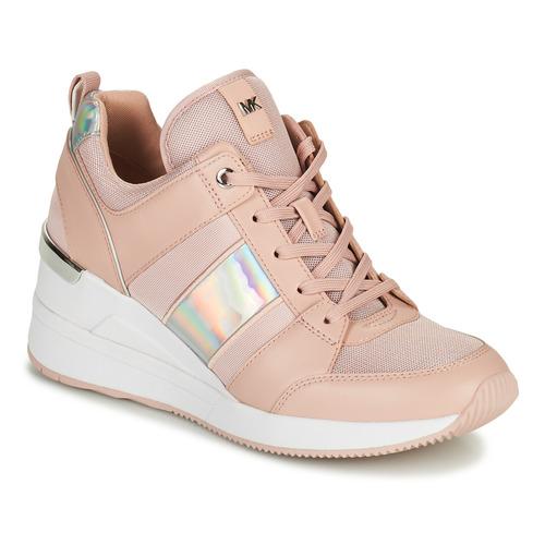 Shoes Women Low top trainers MICHAEL Michael Kors GEORGIE TRAINER Pink