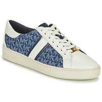Shoes Women Low top trainers MICHAEL Michael Kors KEATON STRIPE SNEAKER White / Blue