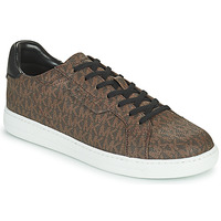 Shoes Men Low top trainers MICHAEL Michael Kors KEATING Brown