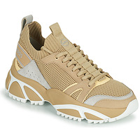 Shoes Men Low top trainers MICHAEL Michael Kors LUCAS Beige