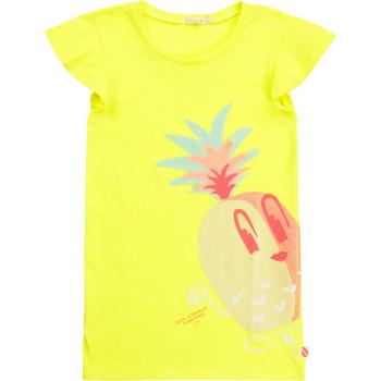 Clothing Girl Short Dresses Billieblush / Billybandit U12625-599 Yellow