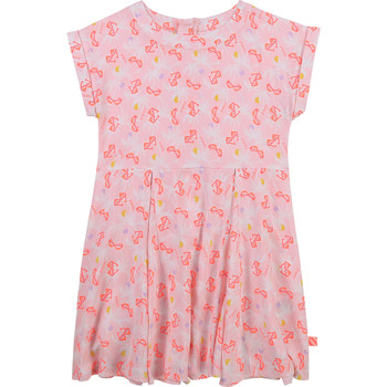 Clothing Girl Short Dresses Billieblush / Billybandit U12650-Z40 Pink