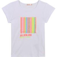 Clothing Girl Short-sleeved t-shirts Billieblush / Billybandit U15857-10B White