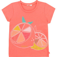 Clothing Girl Short-sleeved t-shirts Billieblush / Billybandit U15864-499 Pink