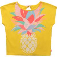 Clothing Girl Short-sleeved t-shirts Billieblush / Billybandit U15873-548 Yellow