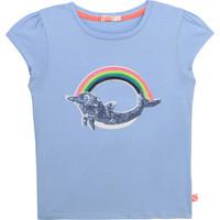 Clothing Girl Short-sleeved t-shirts Billieblush / Billybandit U15875-798 Blue