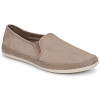 Shoes Men Espadrilles Bamba By Victoria ANDRE ELASTICOS LONA TIN Beige