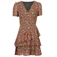 Clothing Women Short Dresses Moony Mood ORNAMA Red