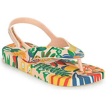 Shoes Children Flip flops Melissa MINI MELISSA & IPANEMA Multicolour
