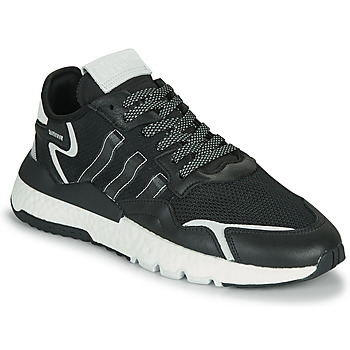 Shoes Men Low top trainers adidas Originals NITE JOGGER Black