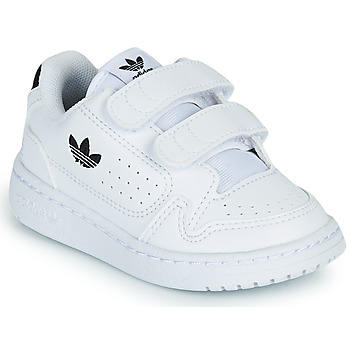 Shoes Children Low top trainers adidas Originals NY 92 CF I White / Black
