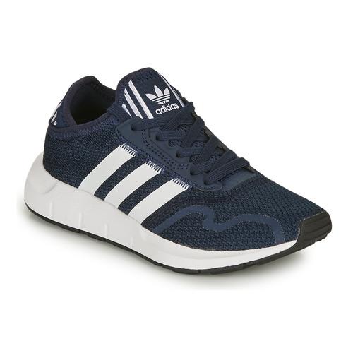 Shoes Children Low top trainers adidas Originals SWIFT RUN X J Marine