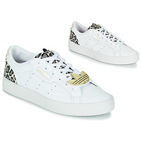 Shoes Women Low top trainers adidas Originals adidas SLEEK W White / Leopard