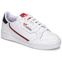 Shoes Women Low top trainers adidas Originals CONTINENTAL 80 White / Red