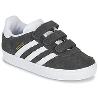 Shoes Children Low top trainers adidas Originals GAZELLE CF I Grey