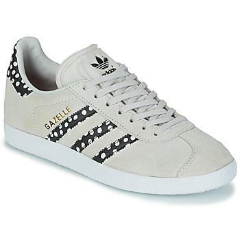 Shoes Women Low top trainers adidas Originals GAZELLE W Grey / Polka dot
